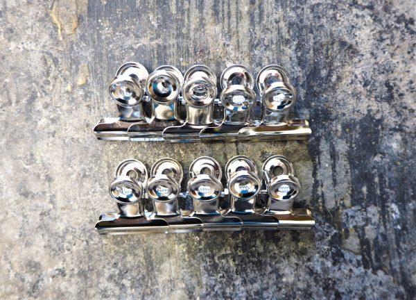 Bulldog clips - packs of 5 or 10