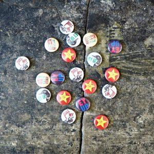 Button Badges - 5 designs