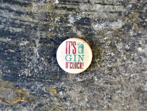 Button Badges - Gin O'clock