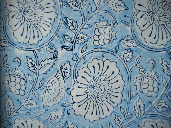 Mughal Garden - Classic Blue