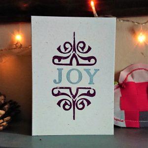 Joy Xmas Card