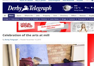 DERBY TELEGRAPH (14 November 2015)