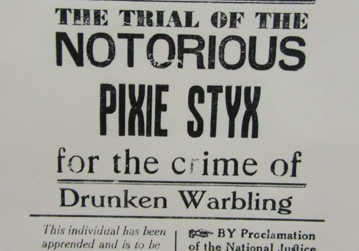 The Ominous Times: Pixie Styx
