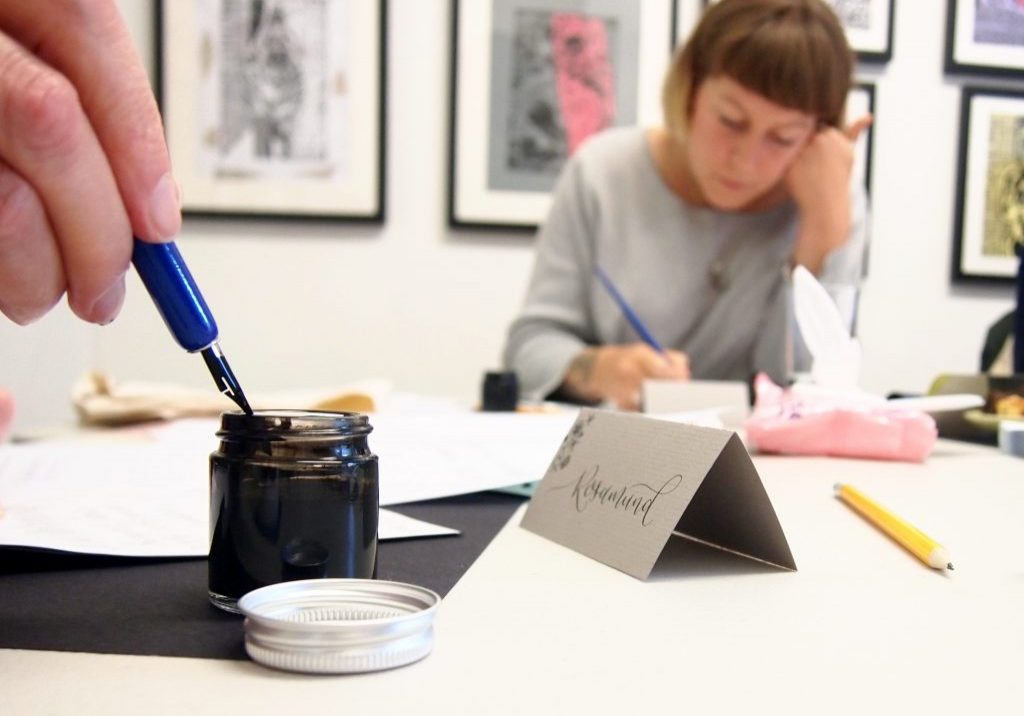Modern Calligraphy workshop
