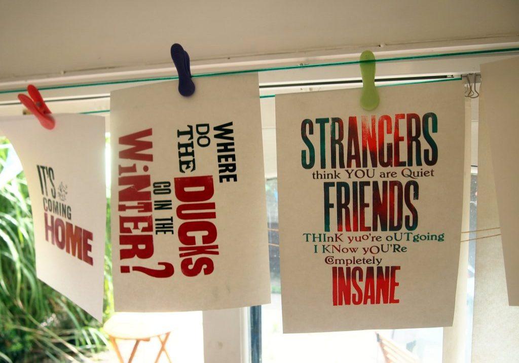 Print a Letterpress Poster